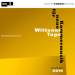 wittener tage 2010 cover